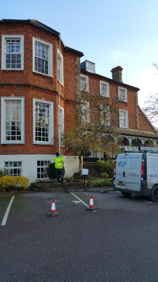 Gutter cleaning in Folkestone CT19 and CT20